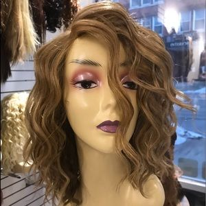 Accessories - Blonde Bob Wig curly wavy short wig 2019 Hairstyle